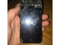 Smashed iPhone 4