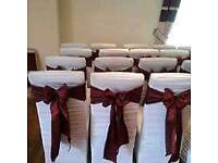 200 Wedding Chair Covers and over 2000 sashes for sale