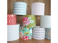 Lampshade Making Workshop being held at The Craft Studio Bangor