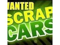 We buy all scrap vehicles 07437888387 instant collection