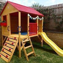Cubby-House-Oscar-Kids-Outdoor-Fort-Playhouse-Timber-Wooden  Cub Ascot Brisbane North East Preview