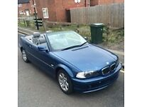 BEAUTIFUL BMW 318 CONVERTIBILE VERY LOWWW MILES 70K