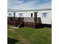 3 Bed Caravan for hire, West Sands, Selsey Bunn Leisure Xmas and winter (summer hols fully booked)