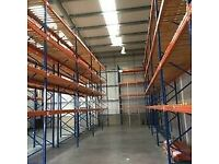 STOW INDUSTRIAL WAREHOUSE PALLET RACKING FRAMES & BEAMS (Chelmsford Branch)