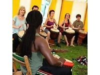 African Drumming Class - Birmingham - Sunday afternoons - Intermediate Level