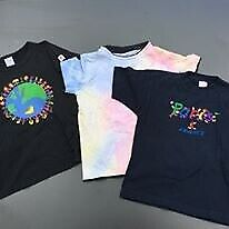 Boy's T-Shirts, bundle, various brands incl. Polarn O. Pyret, for age 6-8yrs
