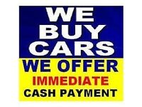 WE BUY CARS AND VANS SELL YOUR CAR OR VAN TODAY 07479856856 SELL MY CAR SCRAP MY CAR
