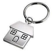 House Shaped Keyring