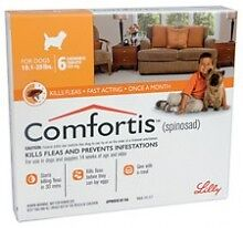 Comfortis Flea Control 4.6 - 9 kg (Orange) x 6 tablets