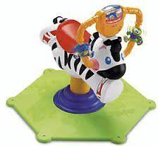fisherprice bounce and spin zebra - £12 ONO