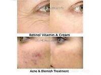 Retin a cream and gel for acnes , fine lines, stretchmarks, blemishes,blackheads,wrinkles...