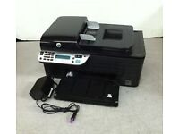HP Officejet 4500 AIO Wireless Inkjet PrinterPage Count with all cables and adapter and No Ink