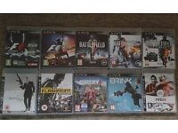 PS3 Games for sale or change with other games