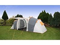 Rage Bergen 6 Six Man Person Family Camping Tunnel Tent