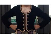 Black highland dancing jacket