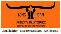 Lawncare, Gardening complete property maintenance.