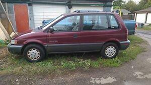 1992 Plymouth Colt Vista Minivan, Van
