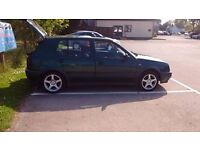 mk3 golf 1996 low mileage