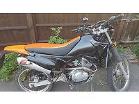 selling my 125cc motorbike