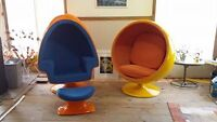 egg chairs
