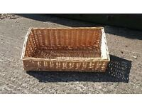 Wicker Baskets various sizes