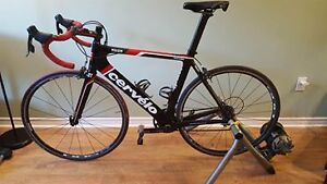 2012 Cervelo S2 with Aerobars, Pedals, Bike Computer