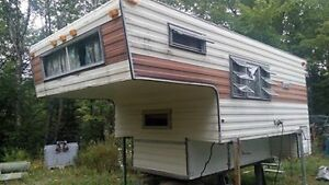 camper for truck box
