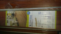 11 boxes laminate flooring and 2 shur-trim all new $320