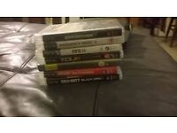 ps3 black with games