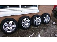 "15"" alloy wheels volkswagen,corsa,bmw,audi"