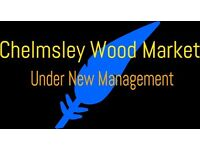 Want to start your own business? 4 weeks FREE! Chelmsley Wood Market