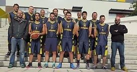 BASKETBALL PLAYERS, Southside Titans, South London