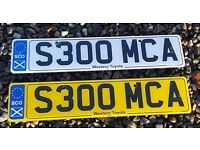 Personal number plate - ideal for McAuley, McArthur, McAllister