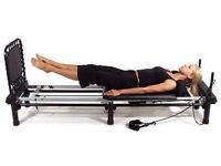 Aero Reformer Pilates Machine with DVD workouts