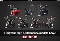 Sears Snowthrowers Repair 780-862-0355 - Snowblower Repair