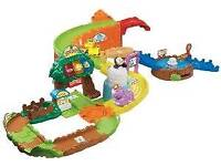 Vtech Toot Toot Train Station & Vtech Animals Safari Park Zoo