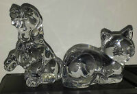 Pair of Lead Crystal Ornaments
