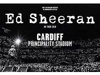 2 x Ed Sheeran tickets £150