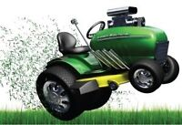 Professional lawn tractor repairs