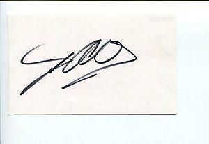 Nsync Autograph