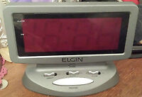 Elgin Electric Alarm Clock