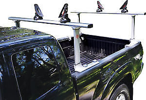 Trac Rac Universal Truck Rack with Kayak Carriers