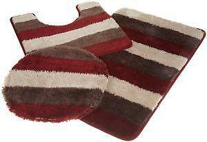 Bathroom Rug Sets Amazing Bath Rug Set  Ebay Review