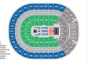 OILERS PLAYOFFS! Lower Bowl Sec.113, Row 14, Seats 5+6 Edmonton Edmonton Area image 2