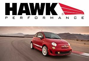 Hawk HPS 5.0 front pads for the 2012-13 Fiat 500 Abarth