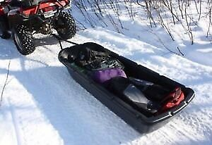 Pelican Sport Trek 60 Sled with Hitch and Runners Instock