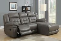 BUNDED LEATHER RECLINER/ SOFA / COUCH