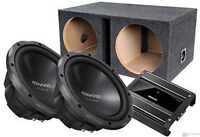 Kenwood 12 Subwoofer and 1000 watts Amp Package