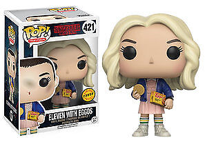 Chase Variant Funko Pop Eleven With Eggos Stranger Things