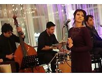 Jazz Wedding Singer with a Band, Duo or Trio. Jazz Band for Wedding.
